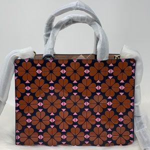 Sam floral spade medium satchel Kate spade bag new